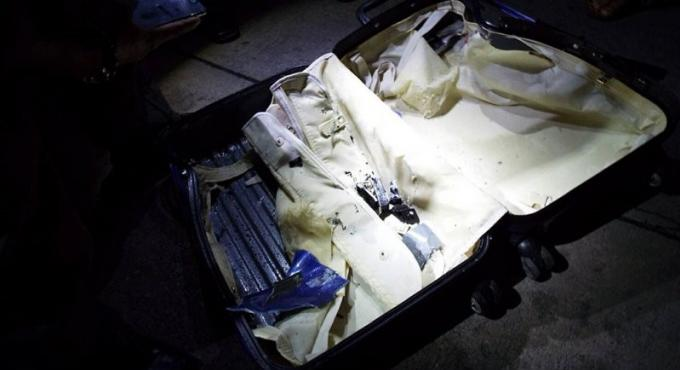 La valise abandonnée au terminal de car de Old Phuket Town était vide