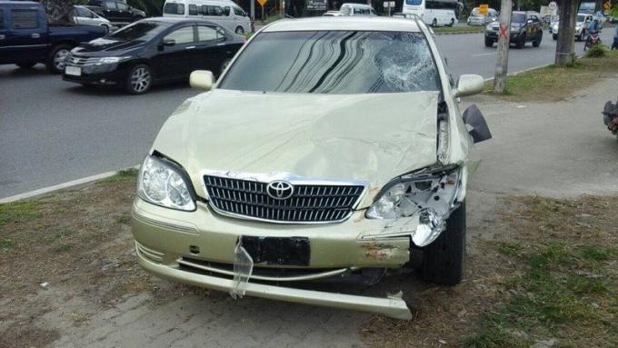 Collision scooter taxi, un russe décède