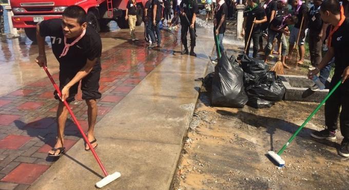Grand nettoyage au Sarasin avant le nouvel an