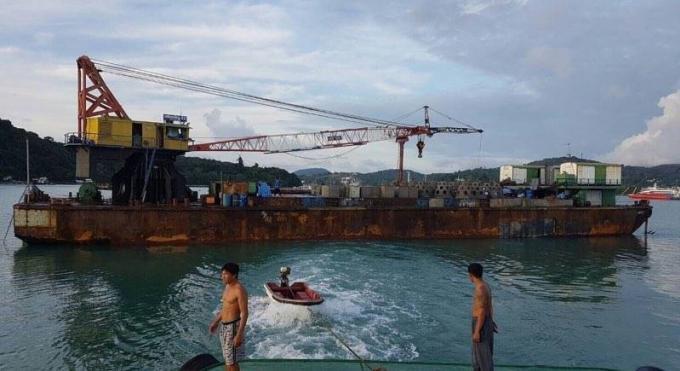 Lancement du projet de restauration du corail a Koh Racha
