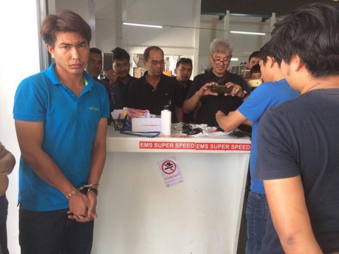 Un individu arrêté à Phuket en réceptionnant à la poste un colis express bourré de drogue