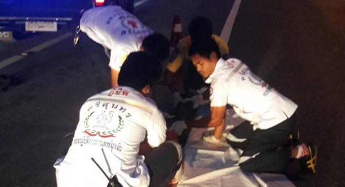 Un thaï de 78 ans meurt dans un accident avec délit de fuite