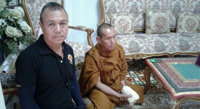 Un faux moine arrêté à Phuket Town