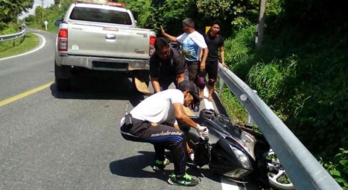 Un italien meurt dans un accident de scooter