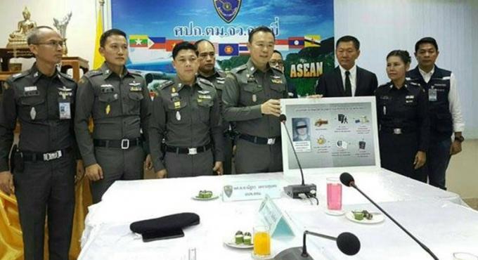 Arrestation a Krabi d'un enseignant américain suspecté de trafic de drogue