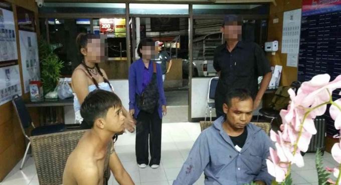 Les voleurs de Wat Chalong attrapés par des riverains