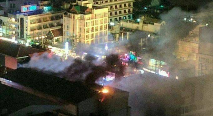 Vidéo : Incendie au Seduction disco sur Bangla Ro