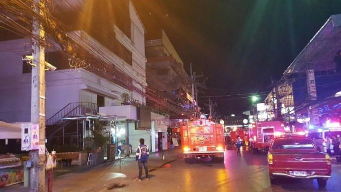 Vidéo : Incendie au Seduction disco sur Bangla Road