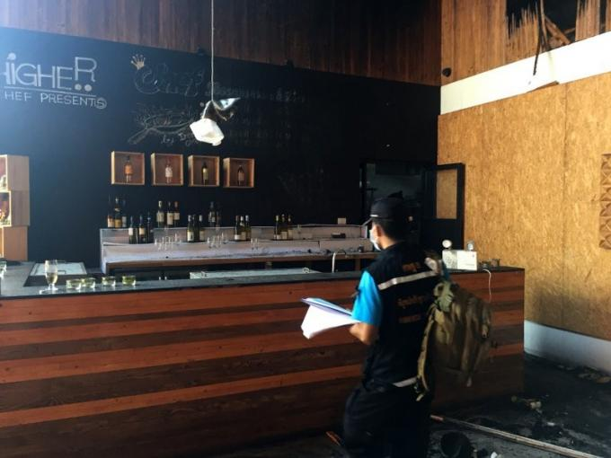 L'incendie au club Seduction s'est déclaré dans le vestiaire des employés