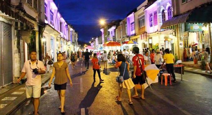 Des routes de Phuket Town seront fermées pendant le Old Town Festival