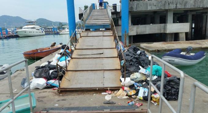 La photo d'une pile de déchets devient virale sur les réseaux sociaux