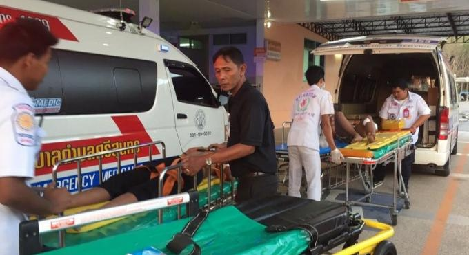Deux jeunes hommes poignardés lors d'une tentative de vol a Srisoonthorn