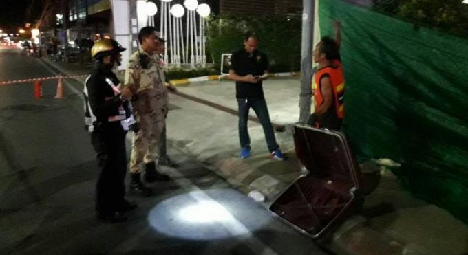 Deux valises abandonnées ont été retrouvées à Phuket Town, malgré la crainte d'attentats la