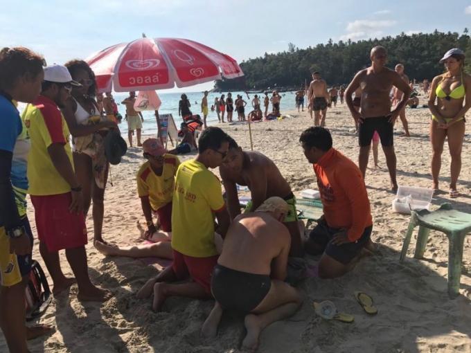 Une australienne décède dans un accident de jet ski a Kata Beach
