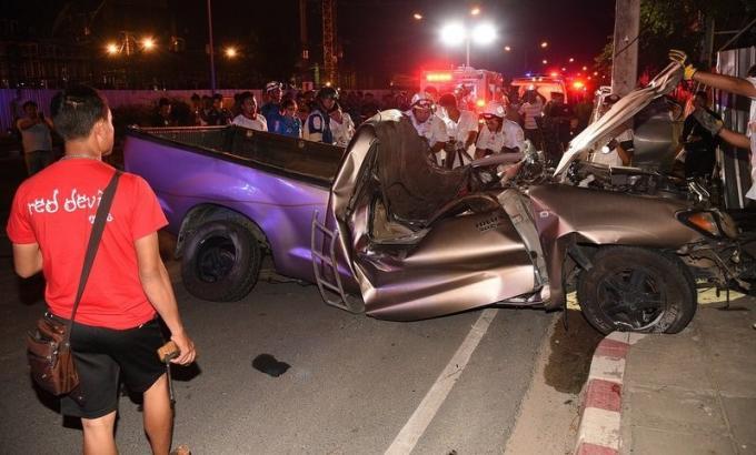 Un mort dans un accident provoqué après l'éclatement du pneu d'un pickup