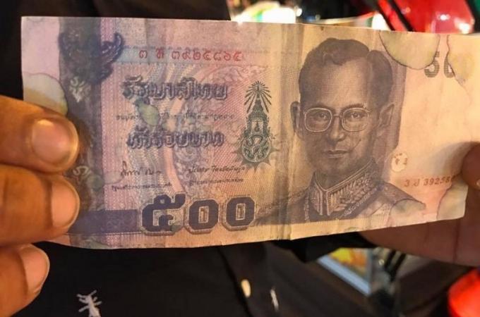 Des faux billets de 500 baths circulent à Phuket