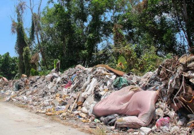 Le problème de la pollution plastique de Phuket