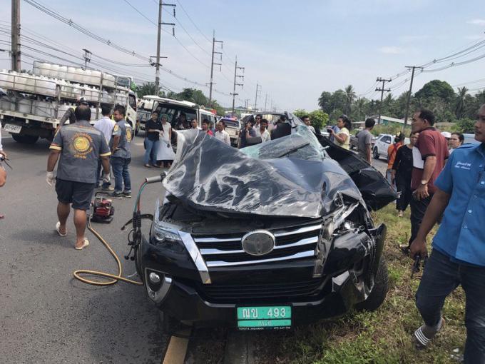 Le chauffeur sera poursuivi après l'horreur de l'accident avec la famille française