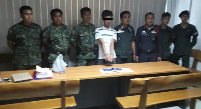 La police saisi 1,300 cachets de méthamphétamine dans un bus provenant de Malaisie