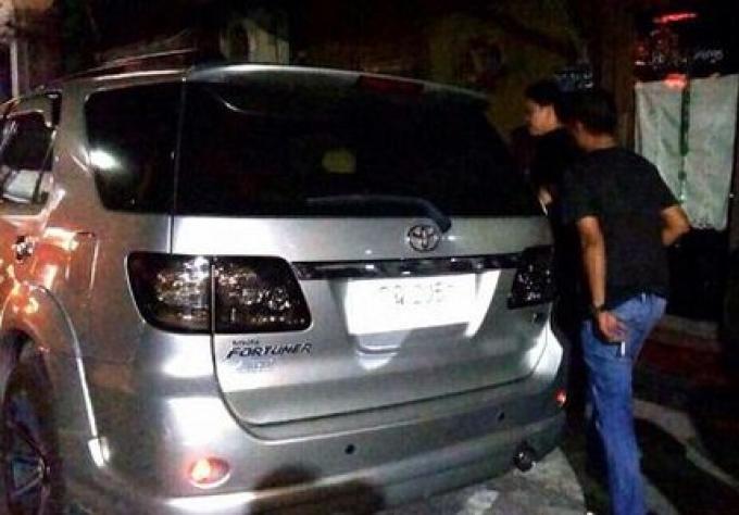 Effraction de 3 véhicules à Phuket town