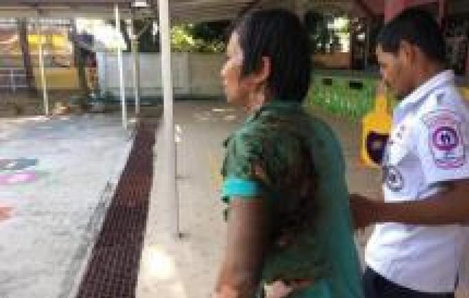 Recherché par la police après avoir mis le feu à son ex-femme