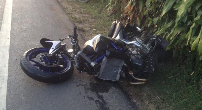 Un thaï de 67 ans meurt dans une collision en deux roues avec un étranger