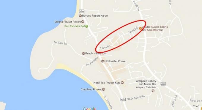 Le gouverneur de Phuket veut étendre les 'horaires de fermetures tardives' a Karon Beach