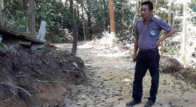 Le chef du parc national de Phi Phi demande son transfert après des protestations à son encontre