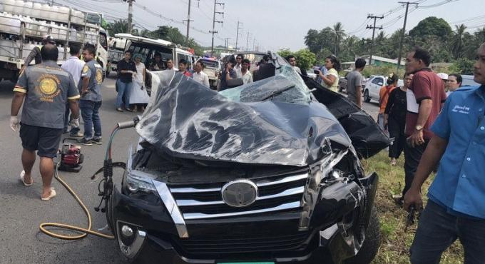Un des touristes français a été transféré en soins intensifs à Bangkok après l'accident mor