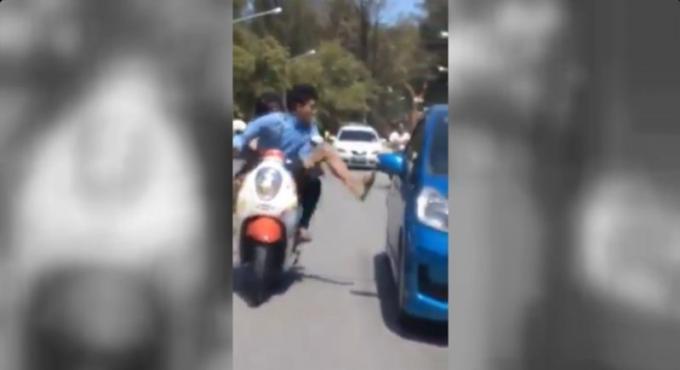 Deux automobilistes inculpés pour conduite dangereuse et violente à Phuket