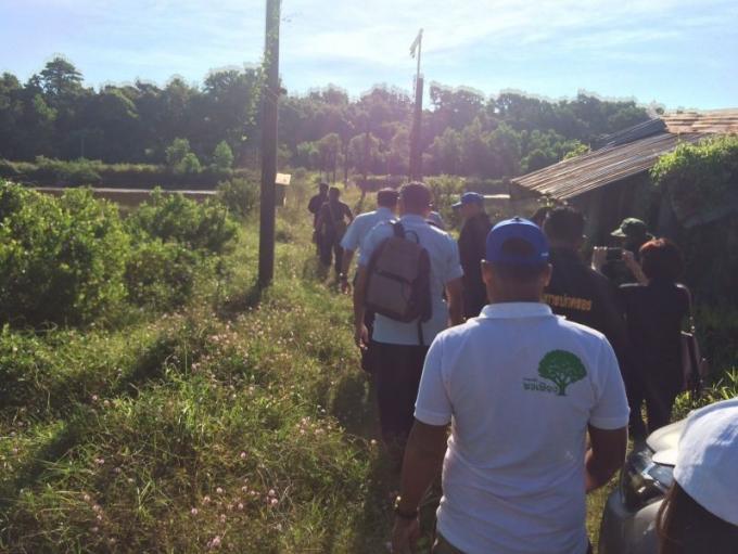 Les officiels récupèrent 42 rai de mangrove à Phuket