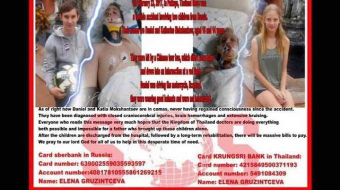 Des expats se mobilisent pour aider des adolescents russes dans le coma après un accident de car
