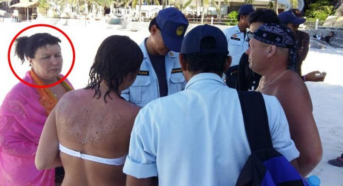 L'immigration de Phuket libère la touriste russe sans l'interdire de séjour