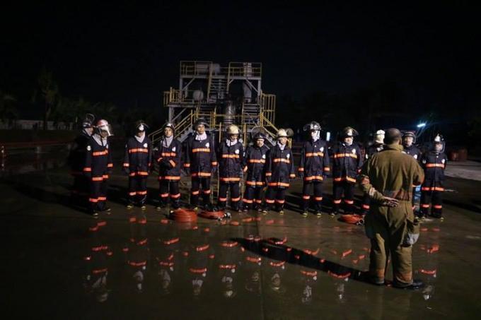 Les pompiers de Phuket se perfectionnent