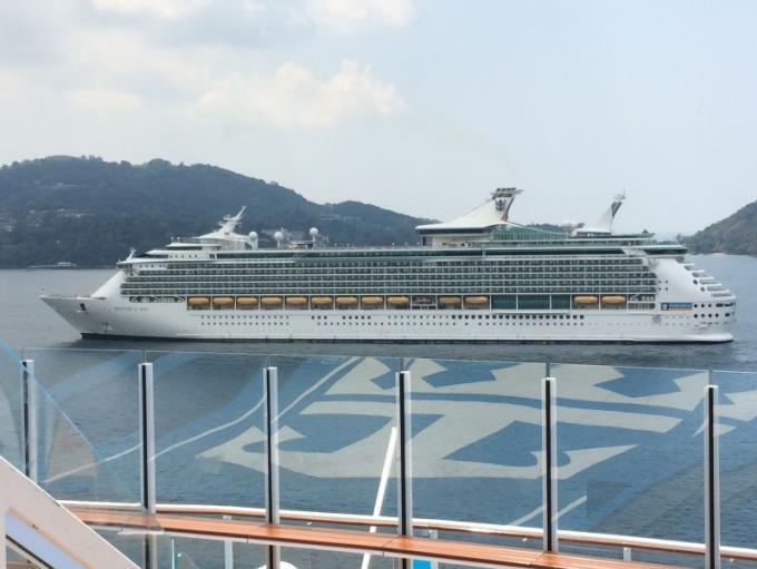 Phuket accueille 7,800 passagers d'une croisière
