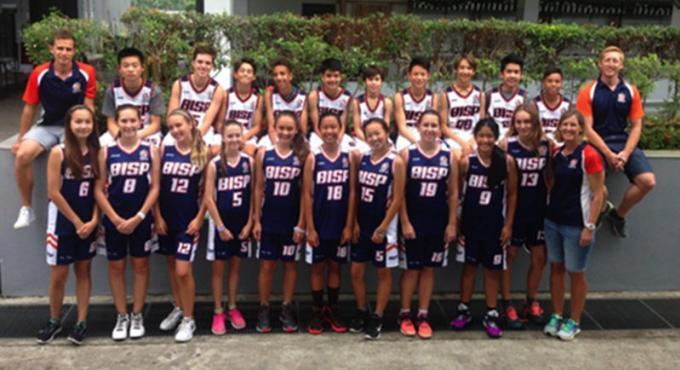 Les basketteuses de la BISP victorieuses à Singapour