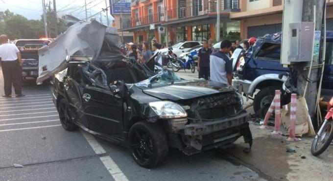 Une ukrainienne de 26 ans dans un état grave après un accident de la route
