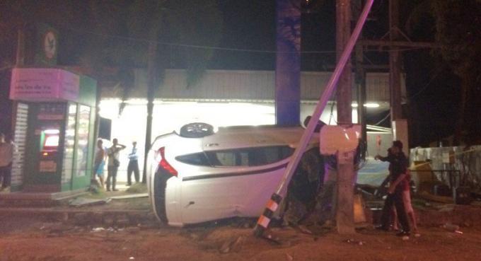 Trois blessés dans un accident après une fête d'entreprise