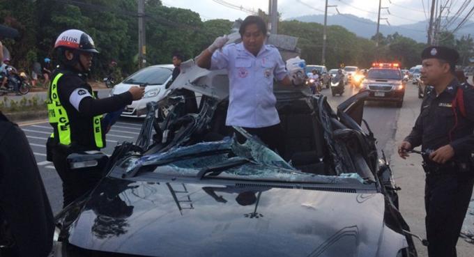 L'ukrainienne impliquée dans le récent accident sera inculpée de conduite dangereuse