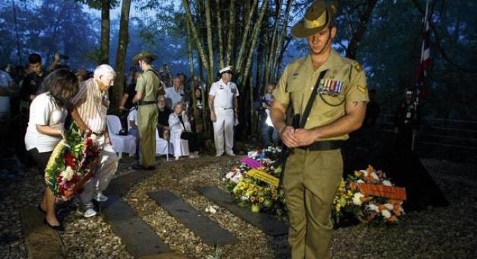 L'Anzac Day commémoré à Phuket