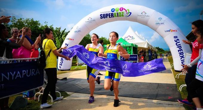 Superkidz Triathlon revient à Thanyapura
