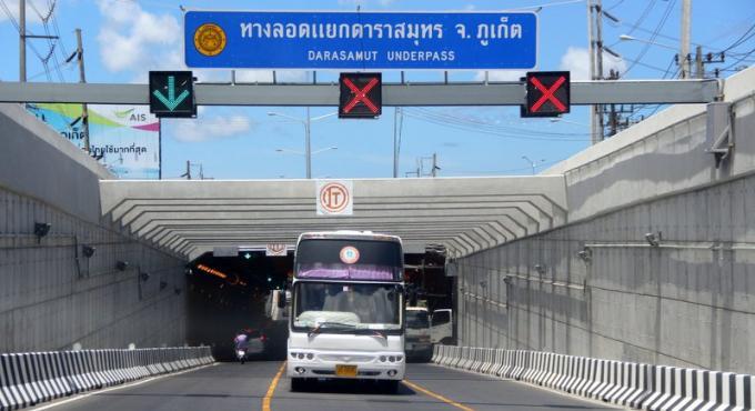 Fermeture d'un tunnel de Phuket pour un exercice 'tremblement de terre' jeudi