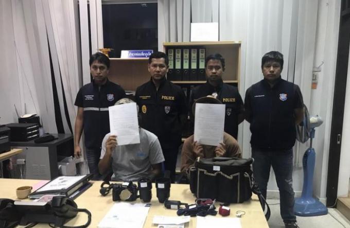 Un chinois et un thaï arrêtés à Phuket pour travail illégal