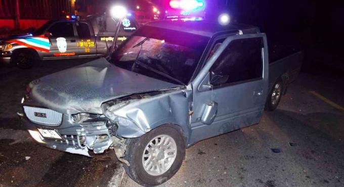 Blessé dans un accident de la route le jour de son anniversaire