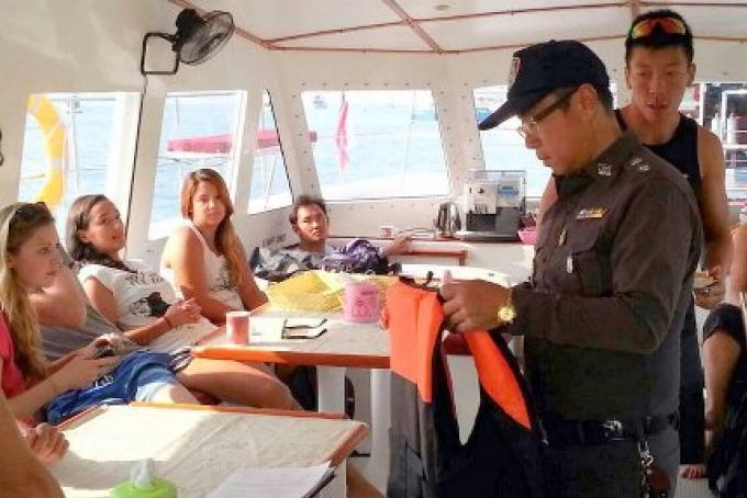 Pas d'interdiction d'alcool aux passagers des tours en bateaux de Phuket