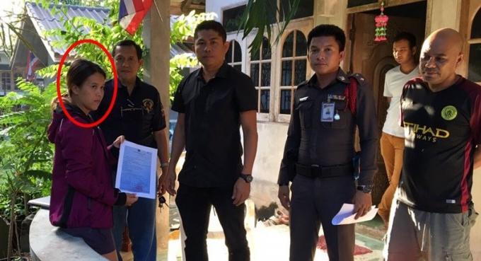 La voleuse d'or arrêtée à Songkhla