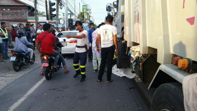 Des étudiants tués, écrasés sous un camion poubelle