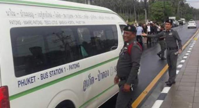 Phuket ne compte toujours pas de mort sur les routes après le 2ème jour de Songkran