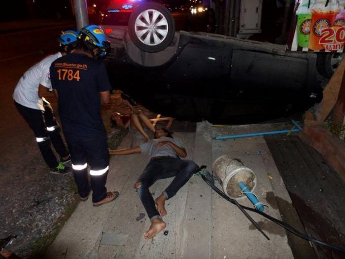 Deux vies sauvées par la ceinture de sécurité