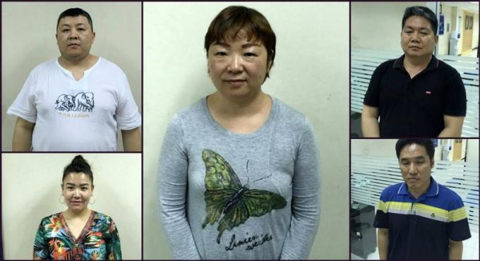 Des sud-coréens et des mongols arrêtés pour escroquerie à la carte bancaire